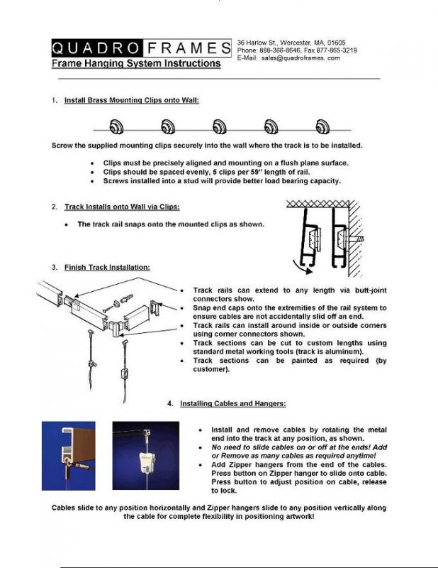 Track_Hanging_Installation_Instruction Sheet_rev_AUG2006