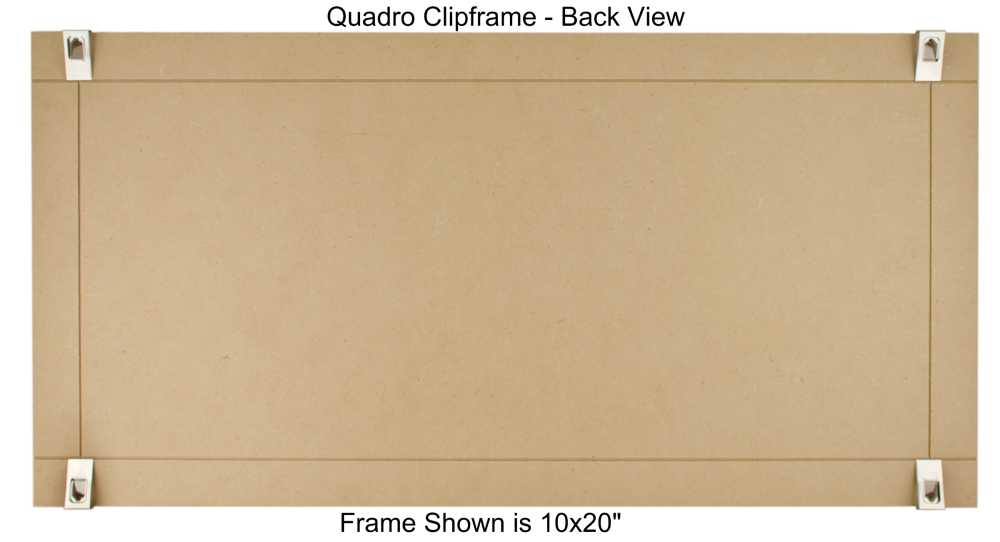 10×20 Clip Frame – Out of Stock Until March 2017 – Quadro Frames
