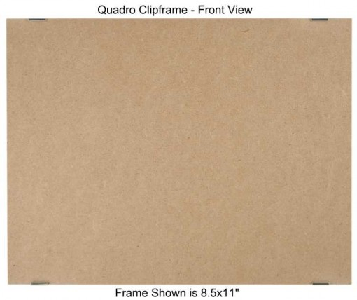 8.5x11 Clip Frame